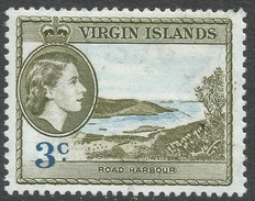 British Virgin Islands. 1956-62 QEII. 3c MH. SG 150 - British Virgin Islands
