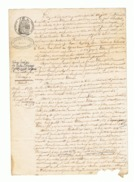 Acte Notarié - UZERCHE ( Corrèze) 1857 - Mr. Joseph LEBLANC  (fr37) - Manuscrits