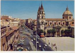 ACIREALE ( CT ) - Corso Umberto - Il Duomo - Acireale