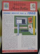 Z5 ITALIA RIVISTA FRANCO BOLLINO CLUB X RAGAZZI BOLLETTINO - 1959 N. 4 1960 OLIMPIADI ROMA TRASPORTI NAVY ARMY - Italiane (dal 1941)