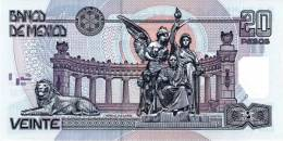 MEXICO P. 116d 20 P 2003 UNC - Mexico
