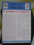 Z5 ITALIA RIVISTA FRANCO BOLLINO CLUB X RAGAZZI BOLLETTINO - 1959 N. 5 SORPRESA SALTO  PAPI E BASILICHE PIGNOLERIA - Italiane (dal 1941)