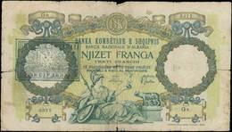 ALBANIA 20 Franka (ND 1945) (Pick 13). Poor - Albanie
