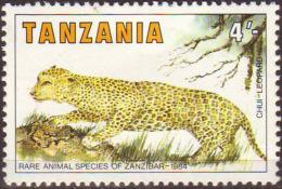 TANZANIA  - SELLO AÑO 1984 - Tanzania (1964-...)