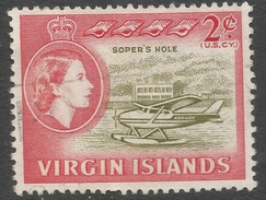 British Virgin Islands. 1964 QEII. 2c Used. SG 179 - British Virgin Islands