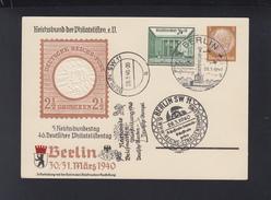 Dt. Reich FDC NABA 1940 - Briefe U. Dokumente