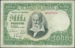 SPAIN 1000 Pesetas (31.12.1951) (Pick 143a). F-VF - [ 3] 1936-1975: Regime Van Franco