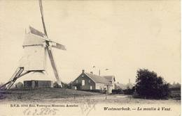 Westmeerbeek Hulshout Le Moulin à Vent Windmolen 1905  D.V.D. 10702 - Hulshout