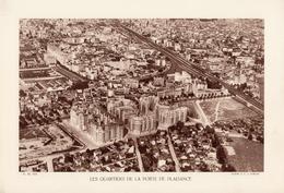 Paris 15°, LES QUARTIERS DE LA PORTE DE PLAISANCE,  Planche Densité = 200g, Format 20 X 29 Cm, (Moreau) - Géographie