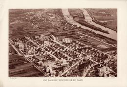 UNE BANLIEUE INDUSTRIELLE DE PARIS  Planche Densité = 200g, Format 20 X 29 Cm, (Moreau) - Géographie
