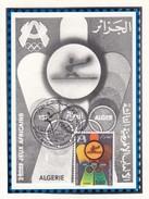TABLE TENNIS-PING PONG-TISCHTENNIS-TENNIS DE TABLE-TENNIS TAVOLO, Algeria, 1978, Special Stamp + Postmark!