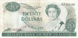 NEW ZEALAND 20 DOLLARS ND 1985 1989 P-173b VF - Nueva Zelandía