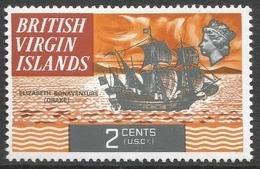 British Virgin Islands. 1970 QEII. 2c MH. SG 242 - British Virgin Islands
