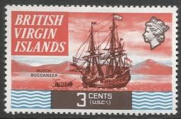 British Virgin Islands. 1970 QEII. 3c MH. SG 243 - British Virgin Islands