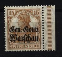 Deutsche Post In Polen,11,rechts Dgz,xx - Besetzungen 1914-18