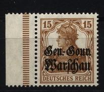 Deutsche Post In Polen,11,links Dgz,xx - Besetzungen 1914-18