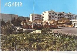 - MAROC - CPM écrite AGADIR - Avenue Hassan II - Photo ITTAH 886 - - Agadir