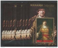 10x MANAMA - Art - Painting - Rembrandt Self Portraits - CTO