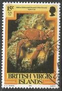 British Virgin Islands. 1979 Marine Life. 15c Used. SG 417 - British Virgin Islands