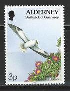 Alderney Mi 67 ** MNH Fulmarus Glacialis