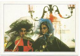 T2573 Italia - Venezia - Scena Del Carnevale - Cartolina Con Legenda Descrittiva / Non Viaggiata - Europe