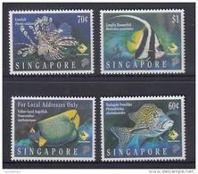 Singapore 1995 Marine Fish MNH - Vissen