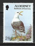 Alderney Mi 77 ** MNH Larus Marinus