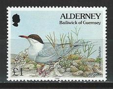 Alderney Mi 81 ** MNH Sterna Hirundo
