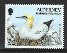 Alderney Mi 82 ** MNH Morus Bassanus