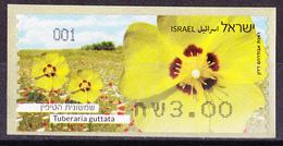 Israel - ATM Mi.Nr. 92 - Postfrisch MNH - Blumen Flowers Sandröschen - Franking Labels