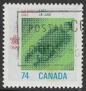 Canada SG1284 1988 Winter Olympic Games, Calgary (5th Issue) 74c Good/fine Used [33/28407/4D]
