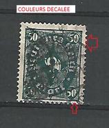 1922 - 23  N° 203  FILIG B  DEUTFCHES REICH MARK   OBLITERE  CHARNIERE 2 SCANNE DESCRIPTION