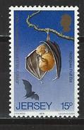 Jersey Mi 211 ** MNH Pteropus Rodricensis