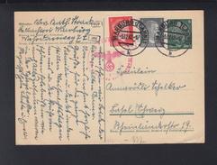 Dt. Reich GSK Mit ZuF 1942 Marburg Zensur - Briefe U. Dokumente