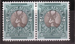 South Africa Sprinbok Pair 1937. - Stamps