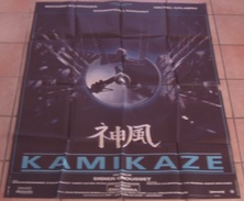 AFFICHE CINEMA ORIGINALE FILM KAMIKAZE Luc BESSON BOHRINGER GALABRU GROUSSET 1986 BERNHARDT - Affiches & Posters