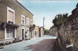 LES VERCHERS La Rue Principale CPSM Format CPA CIRCULEE - Other Municipalities