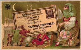 12 CardsC1900 Pub Tapioca Universel Postcards Different Countries Russia USA Spain Turkey China England Litho Imp Laas - Autres