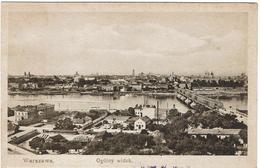 CPA - POLOGNE - WARSZAWA - Ogolny Widok - - Pologne