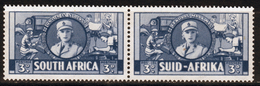 South Africa War Effort 3d Blue Pair 1941. - Stamps