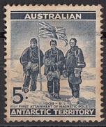 L1 Australia 1957 Australian Antarctic Territory : E. David McKay D. Mawson : Spedizione Australiana Nell'Artico Used - Usati