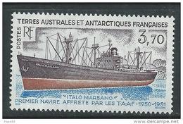 "T.A.A.F. N° 179  XX L""Italo Marsano"" 1er Navire Affrétépar Les TAAF Sans Charnière, TB"