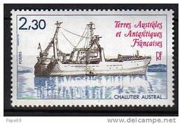 "T.A.A.F.N° 100 XX Chalutier ""Austral"""