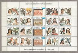 BIRDS Vogel Oiseaux 1987 Latin America History Sheet Cuba  Mi 3121-3140 MNH (**) #21167 - Unclassified