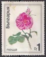 1859 Bulgaria 1970 Flowers Fiori Rosa Rose Used