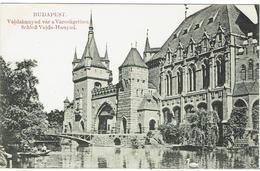 CPA - HONGRIE - BUDAPEST - Vajdahunyad Var A Varesligetben - - Hongrie