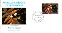 Neukaledonien - Orchideen 1984 (FDC) - Nieuw-Caledonië
