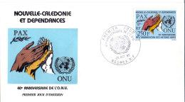 Neukaledonien - UNO 1985 (FDC) - Nieuw-Caledonië