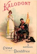 7 Cards C1900 Pub  Kalodont  Crême Dentifrice Spinning Wheel Rouet Lithography Printer Sirven - Chromos