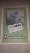 Costituzione Italiana Attraverso La Filatelia CIFT Vastophil 2014 Thematic Philately Book 158 Pages Coloured - Tematica